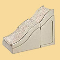 Pet Ramp - Dog Ramp Extension mates to Large Pet Ramp to reach your bed